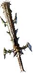 Guerrero Arma Lvl 80