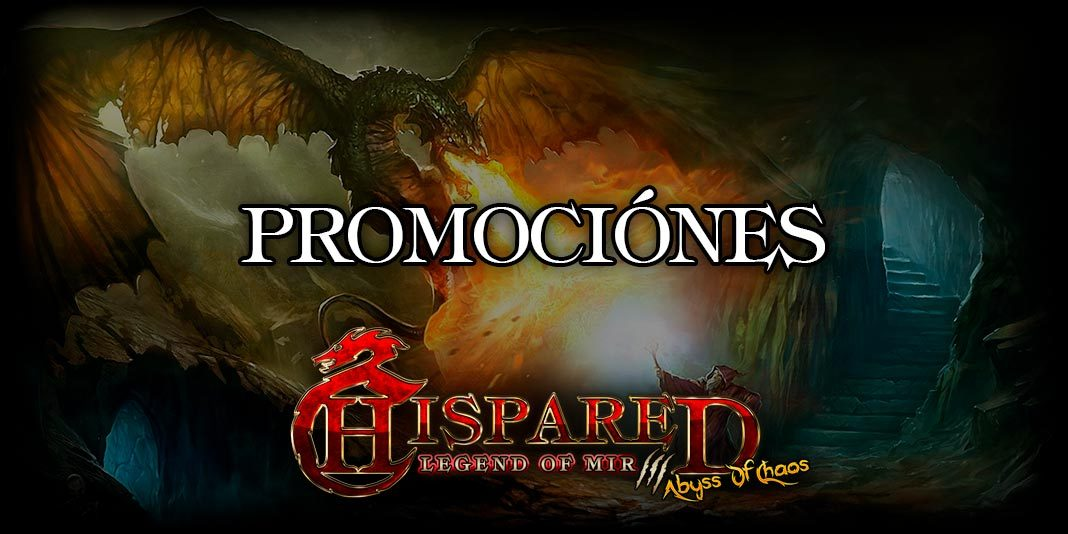 Promociones Legend Of Mir 3 HispaRed