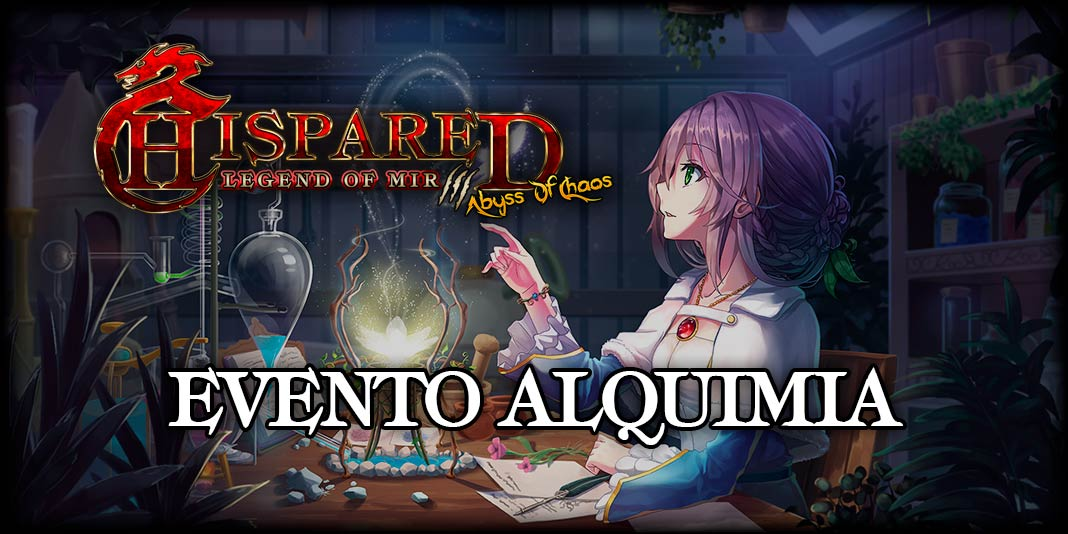 Evento Alquimia juego online Legend Of Mir 3 HispaRed