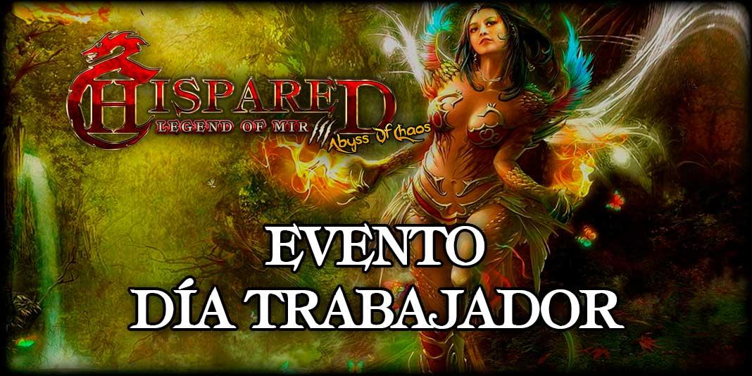 Evento Día Trabajador Legend Of Mir 3 HispaRed