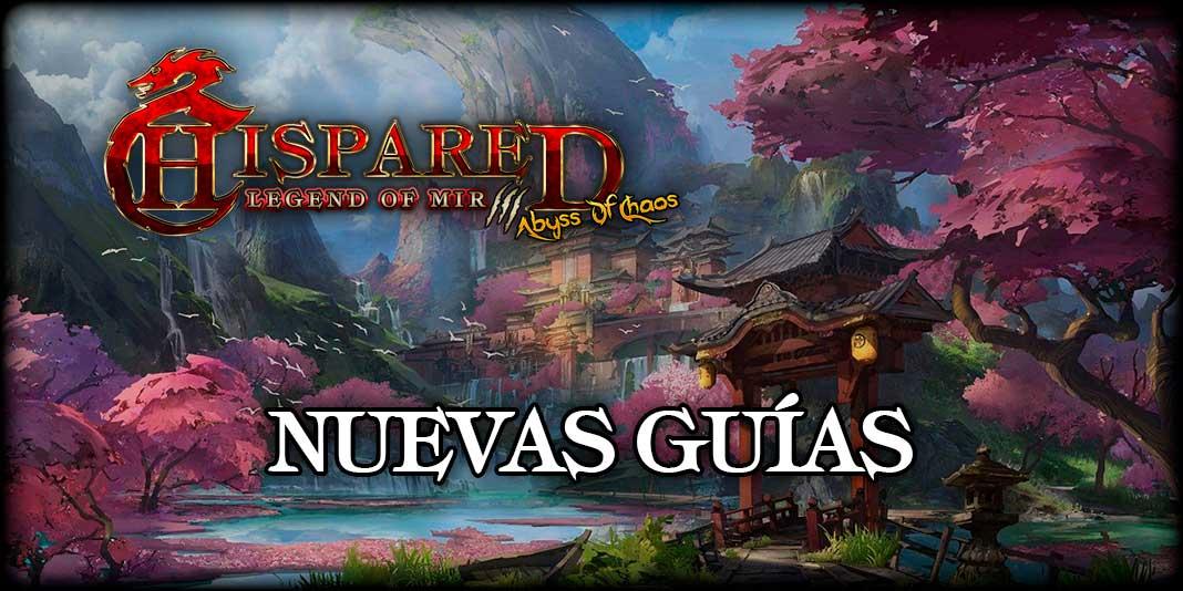 Nuevas Guías Legend Of Mir 3 HispaRed