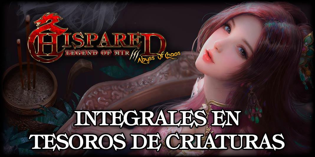 Integrales en Tesoros Legend Of Mir 3 HispaRed