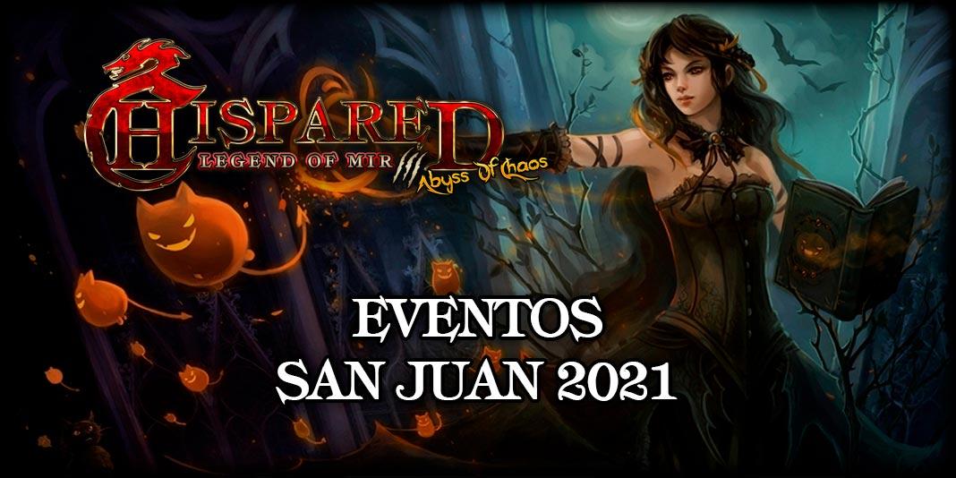 Evento San Juan Legend Of Mir 3 HispaRed